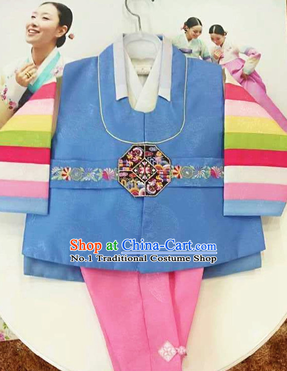 Traditional Korean Kids Clothing Complete Set