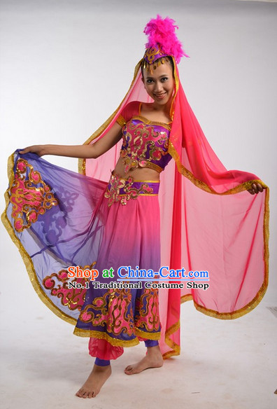 Chinese Costumes Female Ethnic Groups Clothing