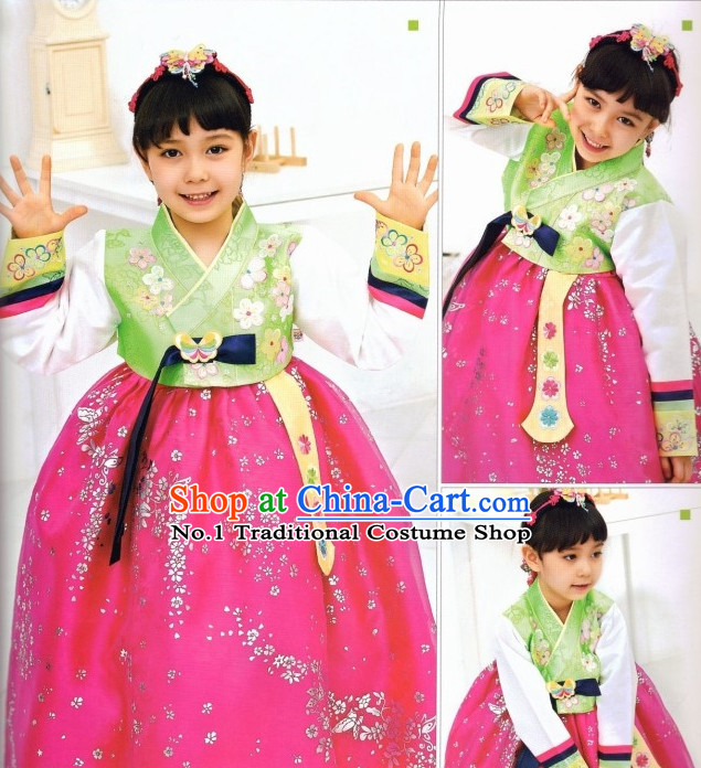 Korean Children Fashion online Apparel Hanbok Costumes Clothes