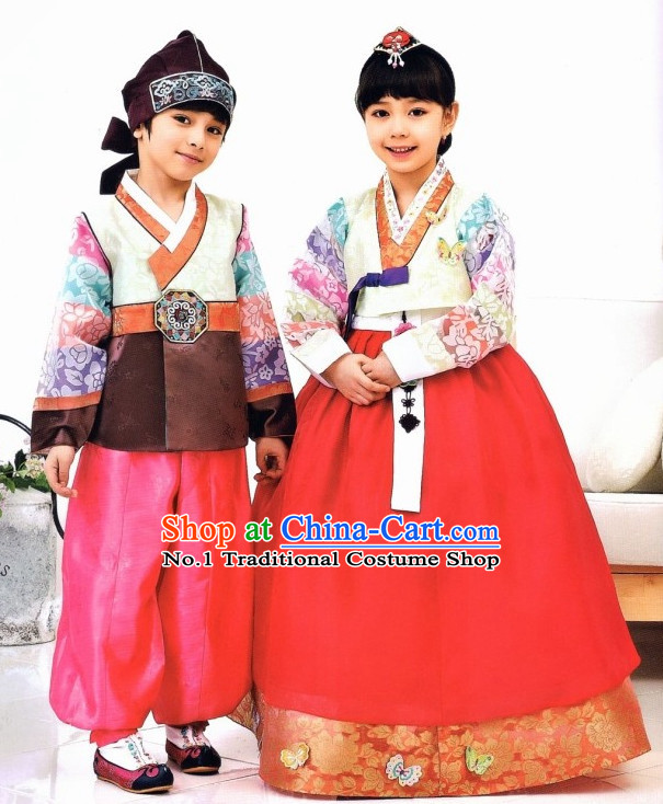 Korean Boys and Girls Fashion online Apparel Hanbok Costumes Clothes