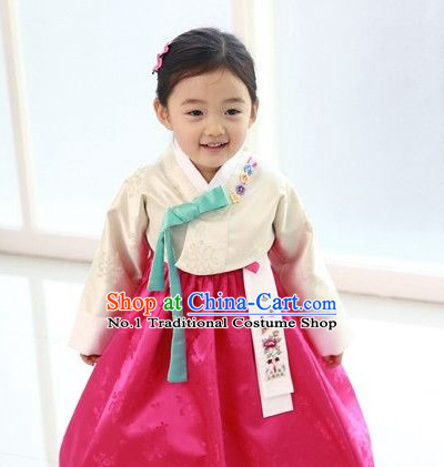 Korean Kids Traditional Clothes Hanbok Dress Shopping