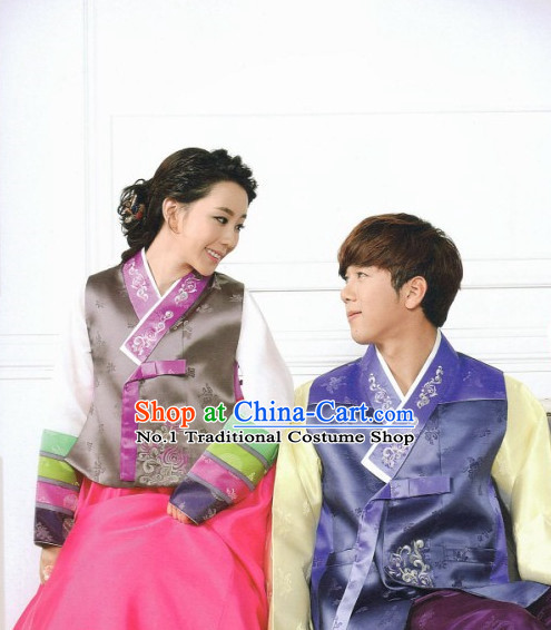 Korean Couple National Costumes Traditional Hanbok Clothes online Shopping