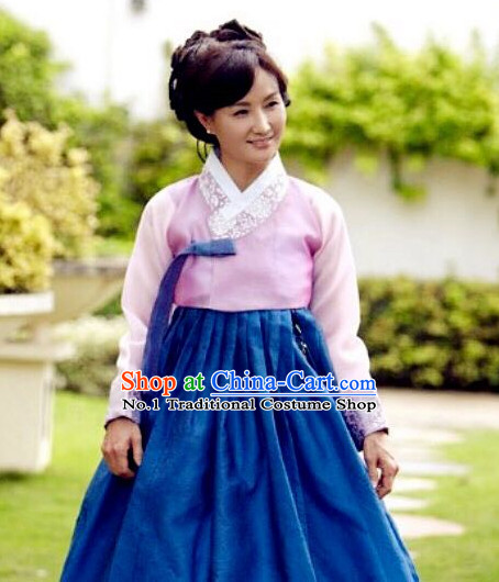 Korean Female National Costumes Traditional Hanbok Clothes online Shopping