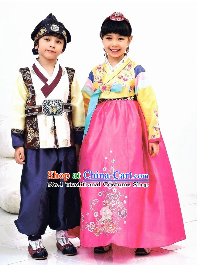 Korean Royal Hanbok For Kids The Image Kid Has It