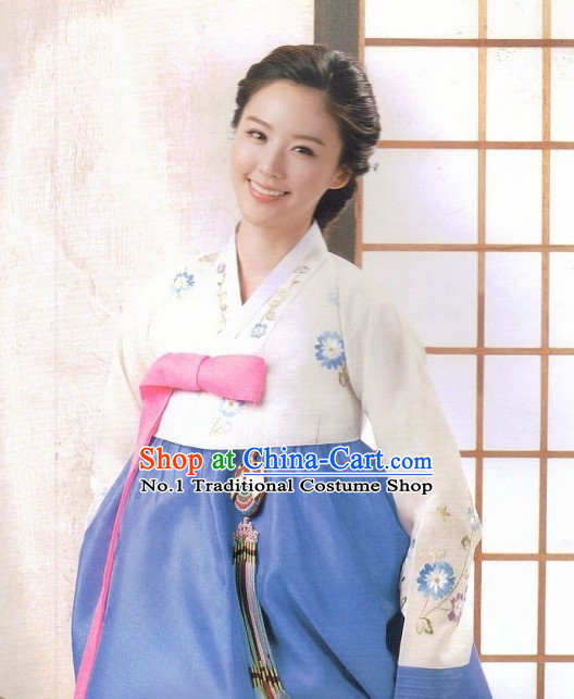 Korean Mother National Costumes Traditional Hanbok Clothes online Shopping for Women