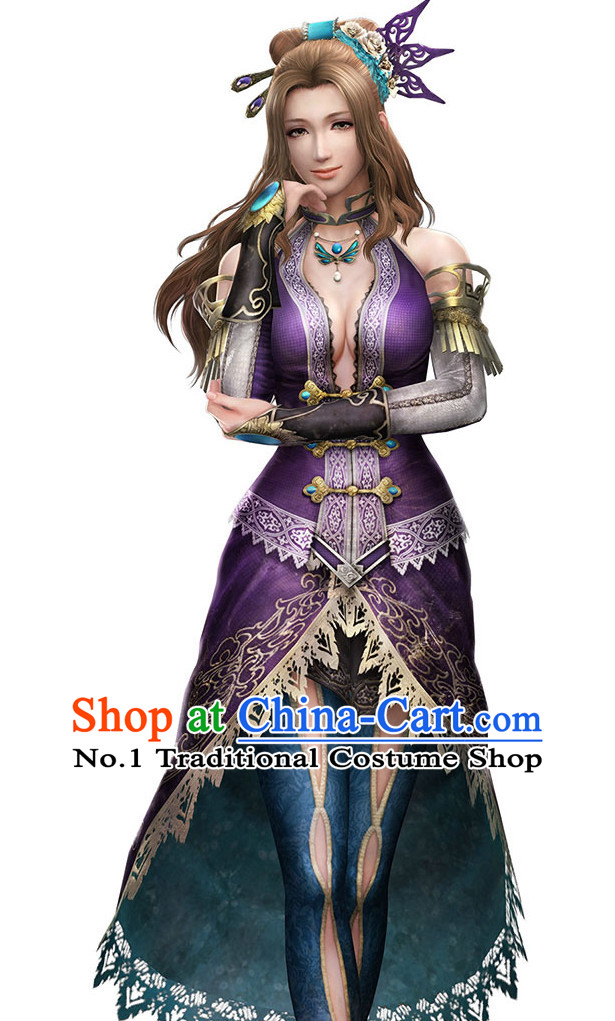 Custom Made According to Your Picture Asian Chinese Ancient Fairy Long Wigs