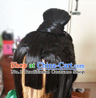 Asian Chinese Ancient Traditional Long Wigs for Women