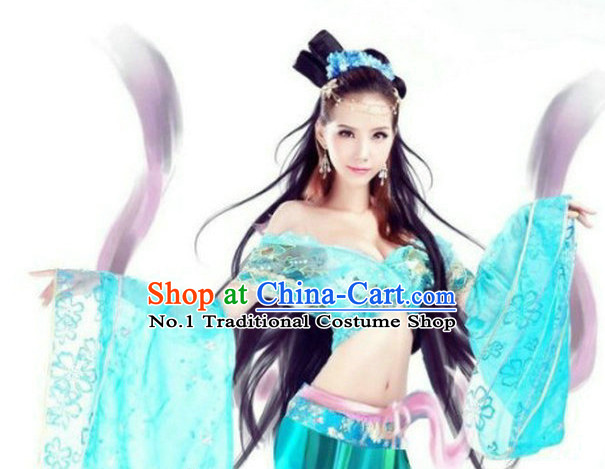 Asian Fashion Witch Sexy Halloween Costumes Complete Set