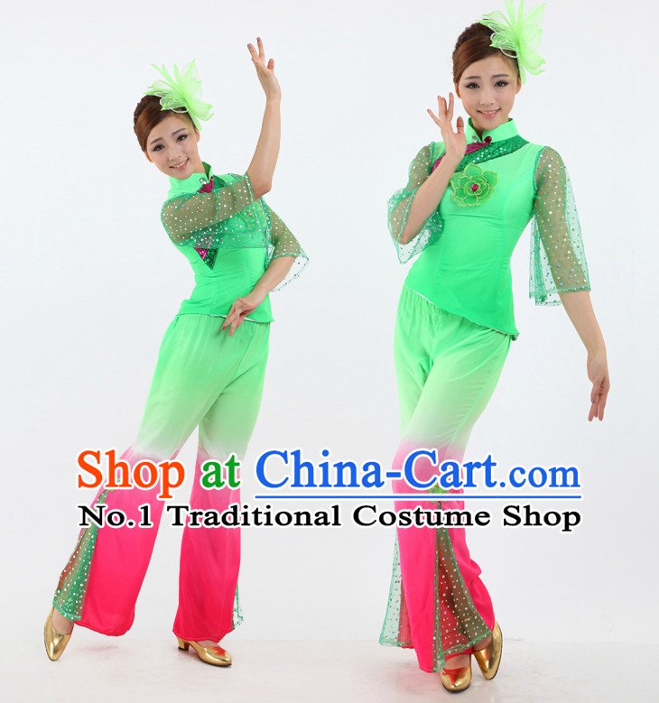 6affa034e Chinese Stage Fans Costumes Dance Stores Dance Gear Dance Attire and Hair  Accessories