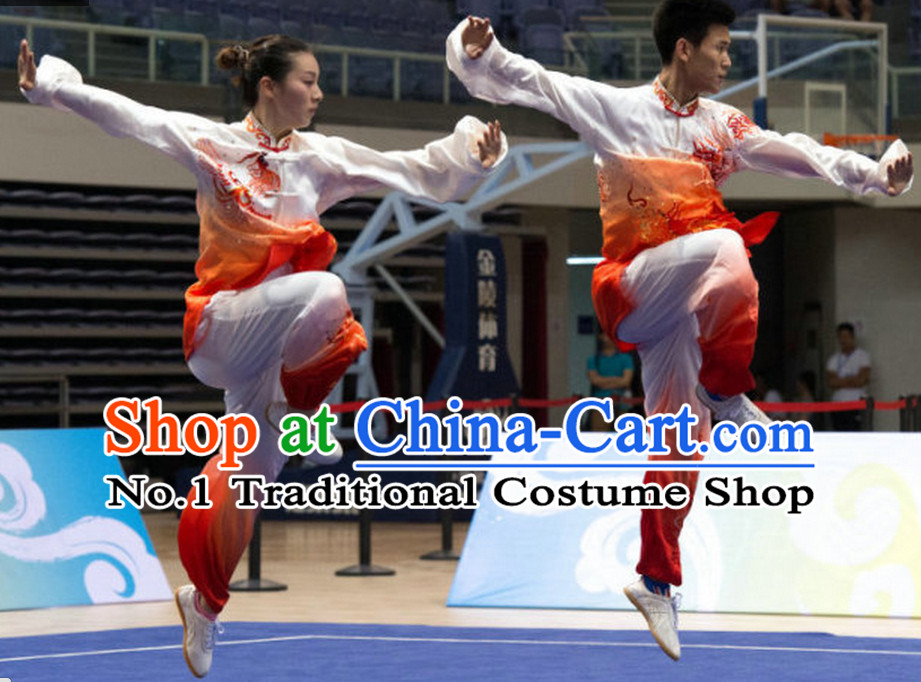 Top Color Change Tai Chi Qi Gong Yoga Clothing Yoga Wear Yang Tai Chi Quan Kung Fu Pants and Blouse Uniforms for Men or Women