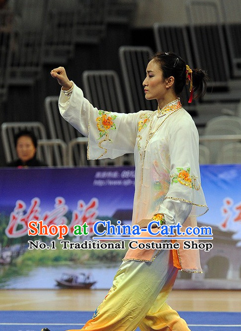 Top Tai Chi Qi Gong Yoga Clothing Yoga Wear Yoga Pants Yang Tai Chi Quan Uniforms for Women