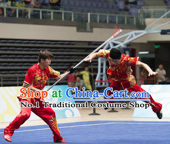 Top Kung Fu Stick Uniforms Kungfu Training Uniform Kung Fu Clothing Kung Fu Movies Costumes Wing Chun Costume Shaolin Martial Arts Clothes for Men