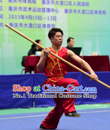 Top Chinese Monkey Boxing Monkey Fist Kung Fu Stick Wooden Dummy Hung Gar Taekwondo Gear Taekwondo Equipment Kung Fu Moves Chinese Kungfu Costume Wing Chun Costumes Competition Uniforms