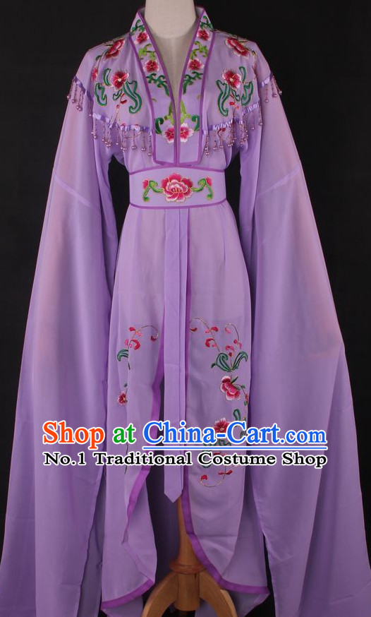 Chinese Culture Chinese Opera Costumes Chinese Cantonese Opera Beijing Opera Costumes Hua Tan Water Sleeves Costumes for Women