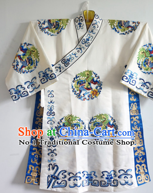 Asian Fashion China Traditional Chinese Dress Ancient Chinese Clothing Chinese Traditional Wear Chinese Opera Long Embroidered Kylin Robe for Men