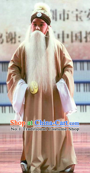 Asian Fashion China Traditional Chinese Dress Ancient Chinese Clothing Chinese Traditional Wear Chinese Opera Old Men Costumes for Children
