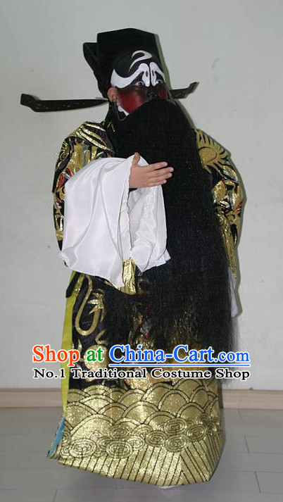Asian Fashion China Traditional Chinese Dress Ancient Chinese Clothing Chinese Traditional Wear Chinese Opera Guan Gong Judge Costumes for Children