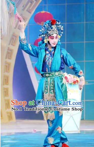 Asian Fashion China Traditional Chinese Dress Ancient Chinese Clothing Chinese Traditional Wear Chinese Opera Wu Tan Costumes for Children
