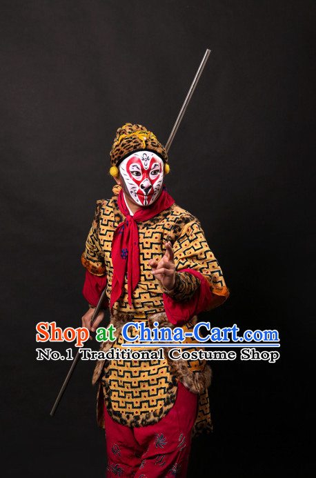 Asian Fashion China Traditional Chinese Dress Ancient Chinese Clothing Chinese Traditional Wear Chinese Opera Sun Wukong Costumes for Men