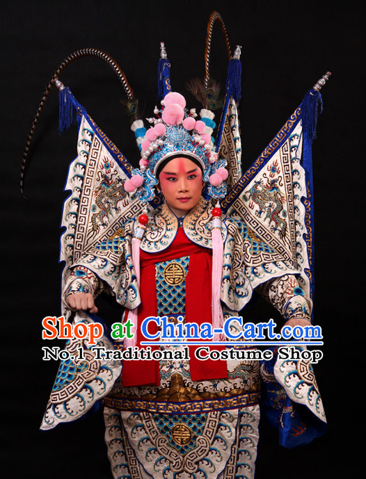 Asian Fashion China Traditional Chinese Dress Ancient Chinese Clothing Chinese Traditional Wear Chinese Opera Genearl Armor Costumes for Men