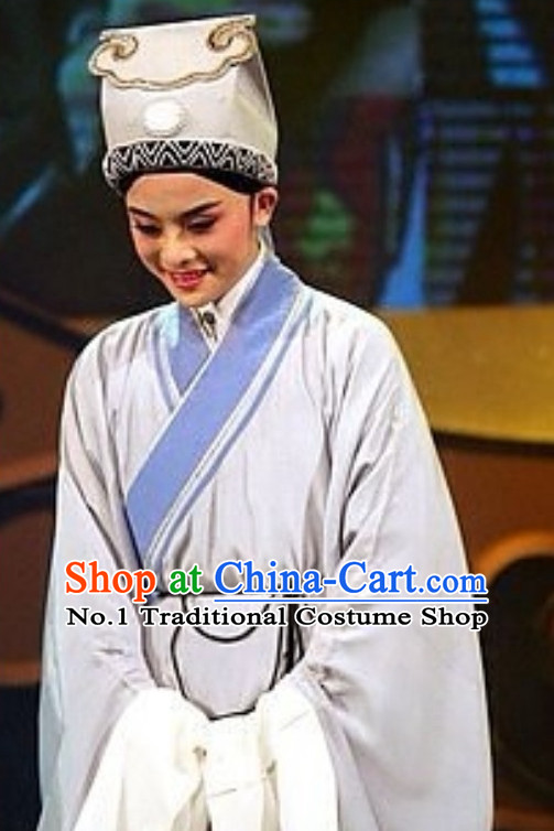 Asian Chinese Traditional Dress Theatrical Costumes Ancient Chinese Clothing Chinese Attire Peking Opera Young Scholar Costumes