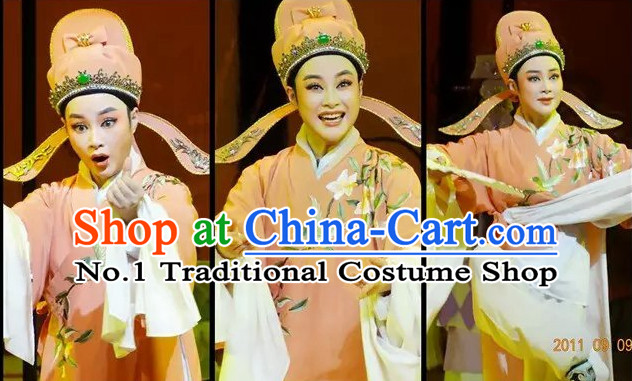 Asian Chinese Traditional Dress Theatrical Costumes Ancient Chinese Clothing Chinese Attire Mandarin Opera Young Men Costumes