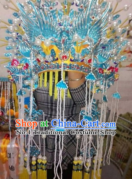 Top Traditional Chinese Peking Opera Theatrical Costumes Phonenix Coronet