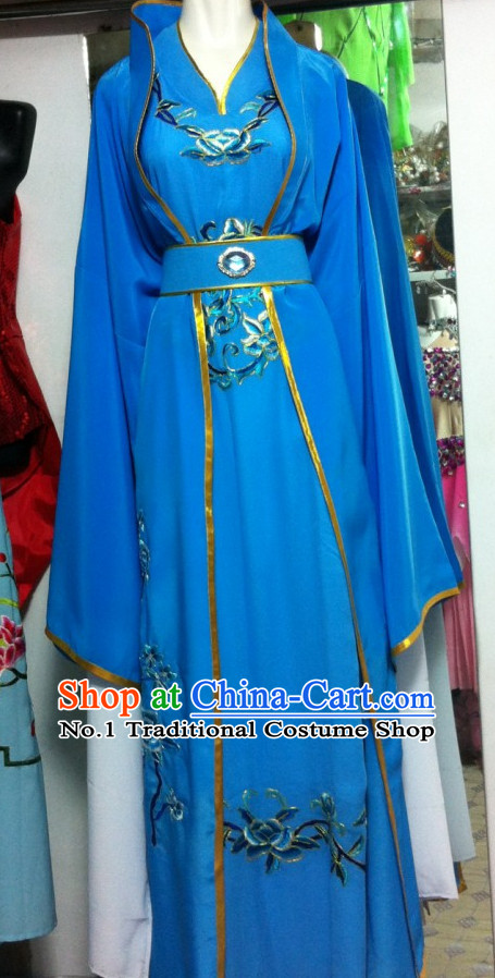 Asian Chinese Traditional Dress Theatrical Costumes Ancient Chinese Clothing for Women
