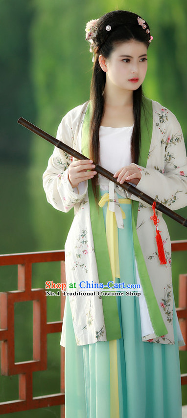 Chinese Traditional Hanfu Summer Dresses for Women