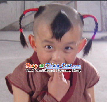 Ancient Chinese Cute Wig for Kids, Teenagers and Adults
