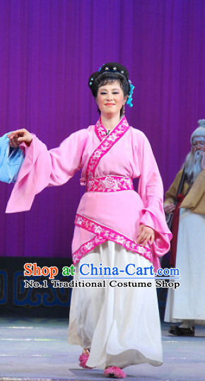Chinese Goddess Marriage Gentle Wife Costumes Complete Set