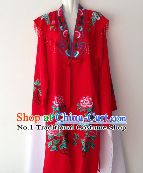 Long Sleeve Beijing Opera Female Long Robe
