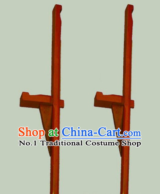 Chinese Stage Performance Long Stilt Props