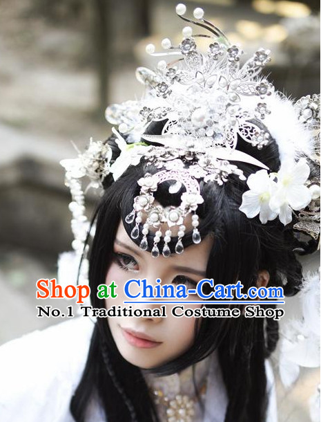 Chinese Traditional Handmade Princess Cosplay Hair Accessories