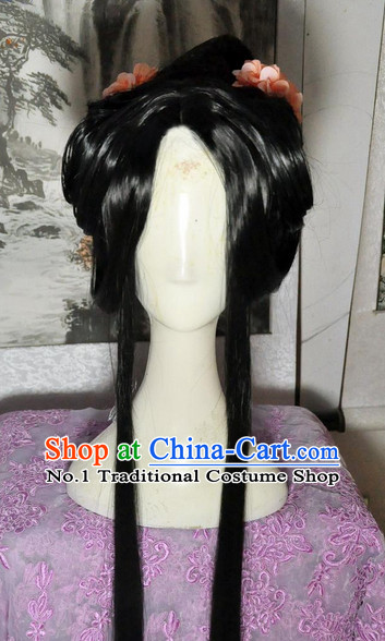 Chinese Traditional Handmade China Wig Style