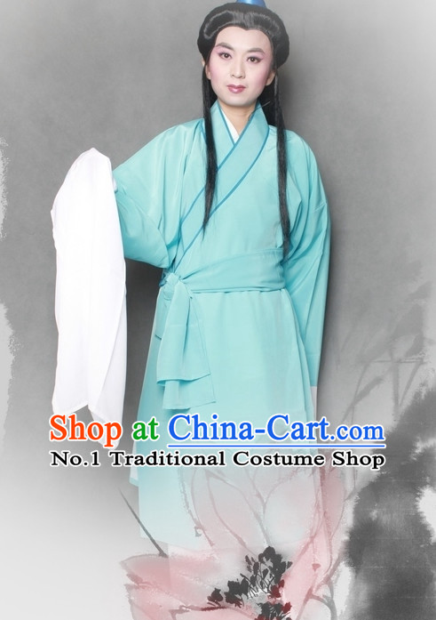 Chinese Style Beijing Opera Long Sleeve Dong Yong Costumes for Men