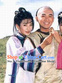 Princess Pearl of Returning Traditional Chinese Zhao Wei Xiao Yanzi Little Swallow Costumes Princess Returning Pearl