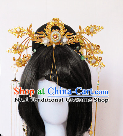 Chinese Ancient Palace Style Queen Hair Accessories Headwear