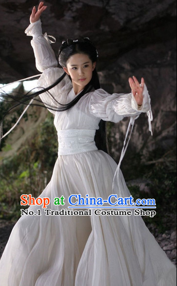 Traditional Chinese Xiao Long Nv Young Dragon Lady Hanfu Costumes