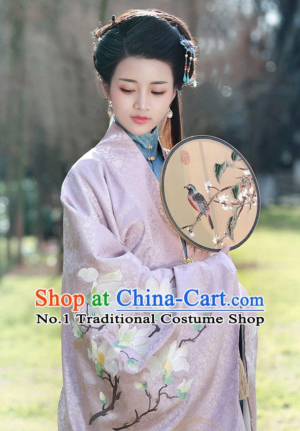 b5744734d3 Chinese Ancient Rich Women Clothing and Hair Jewelry Complete Set