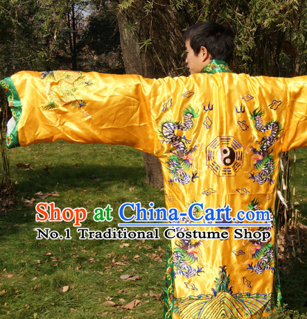 Chinese Ancient Wudang Mountain Taoist Robe for Men