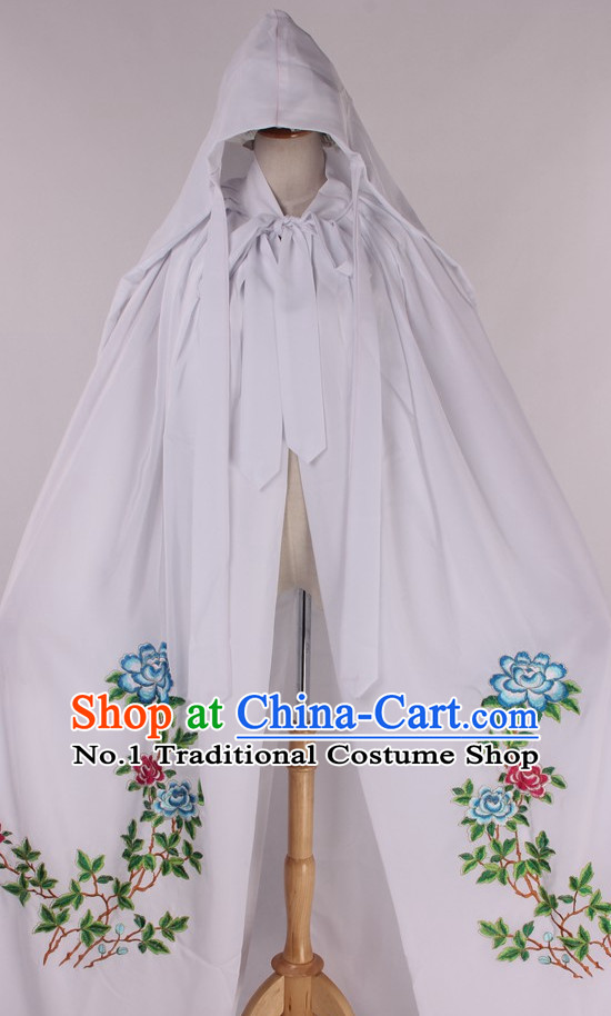Chinese Traditional Oriental Clothing Theatrical Costumes Opera Costume Female Cape