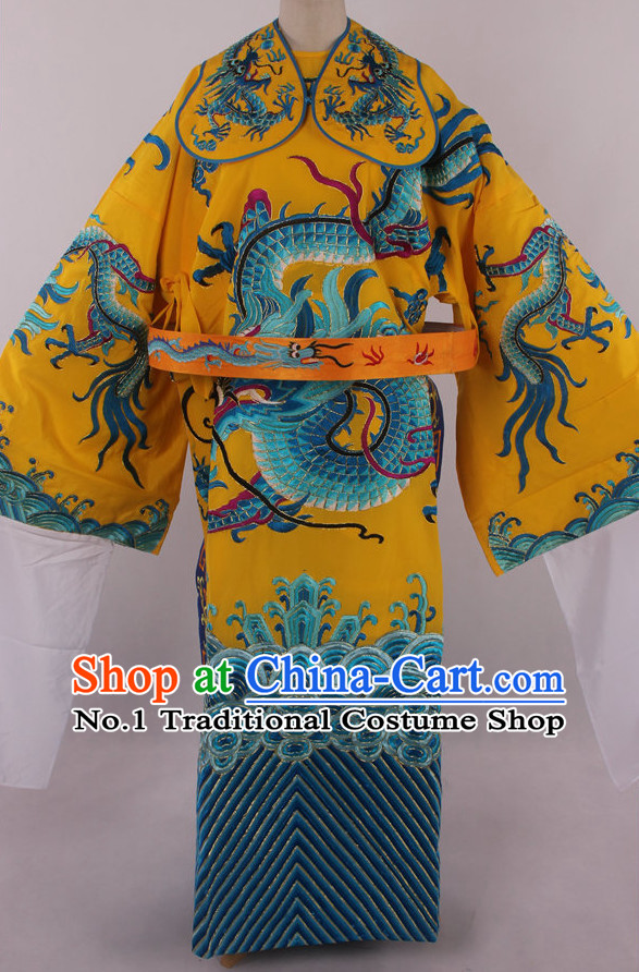 Chinese Traditional Dresses Theatrical Costumes Ancient Chinese Hanfu Dragon Embroidered Costumes