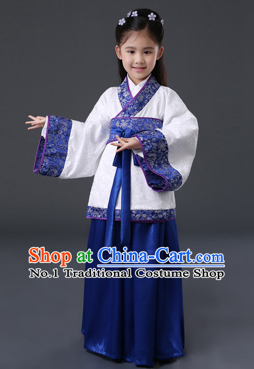 Chinese Hanfu Asian Fashion Japanese Fashion Plus Size Dresses Traditional Clothing Asian Hanfu for Kids