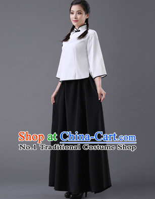 Chinese Hanfu Asian Fashion Japanese Fashion Plus Size Dresses Traditional Clothing Asian Student Wu Si Five Four Movement Costume for Girls