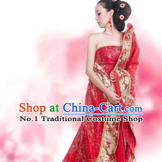 Chinese Hanfu Asian Fashion Plus Size Dresses Traditional Clothing Queen Hanfu Clothing for Ladies