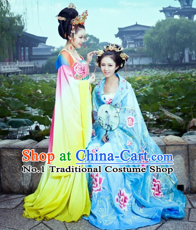 Custom Hanfu Dress Ancient Chinese Princess Clothing Complete Set for Women