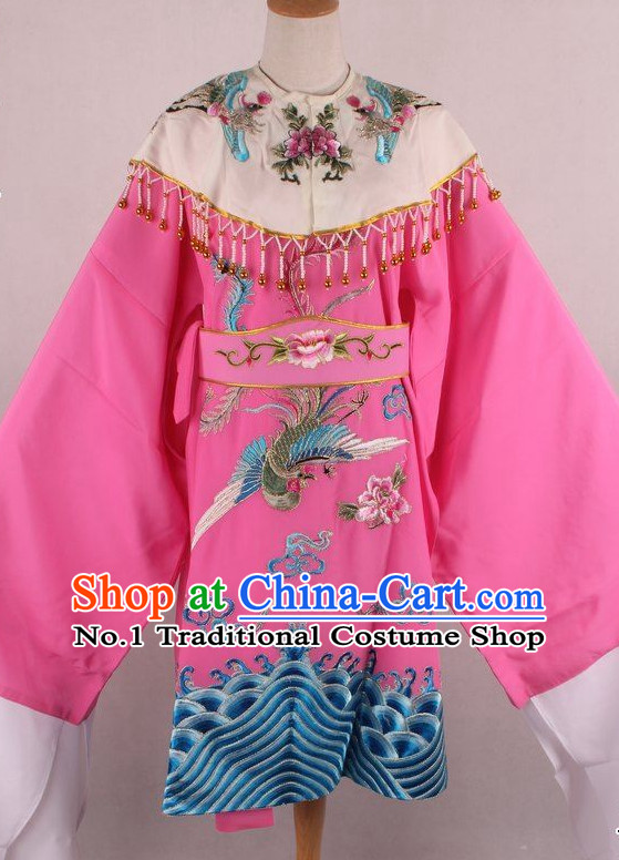 Chinese Traditional Oriental Clothing Theatrical Costumes Opera Phoenix Costumes for Kids