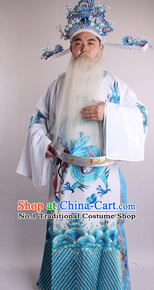 Traditional Chinese Dress Ancient Chinese Clothing Theatrical Costumes Chinese Opera Official Costumes Cultural Costume for Men