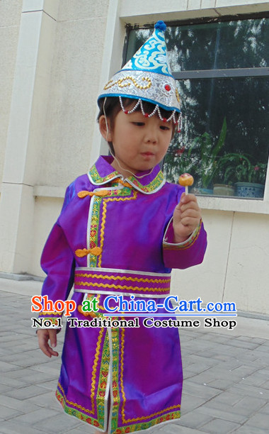 Mongolian clothing traditional dress Mongolia costumes hat kids boys girls women men ethnic costumes minority dresses